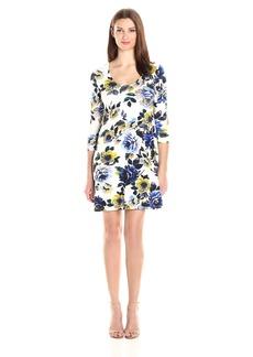 Karen Kane Women's New Leaf Taylor Dress  XL