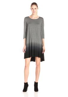Karen Kane Women's Ombre 3/4 Sleeve Maggie Dress  S