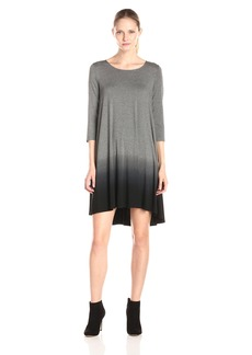 Karen Kane Women's Ombre 3/4 Sleeve Maggie Dress  XS