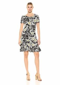 Karen Kane Women's Palm Blossom Dakota Dress