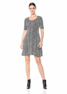 Karen Kane Women's Pencil Sleeve A-LINE Dress  Extra Small