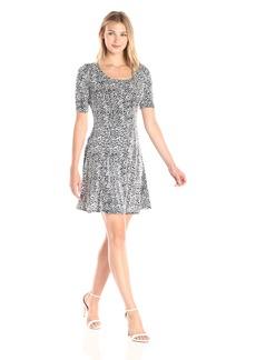 Karen Kane Women's Pencil Sleeve a-Line Dress  XL