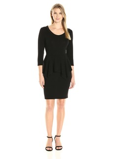 Karen Kane Women's Peplum Sweater Dress  XL