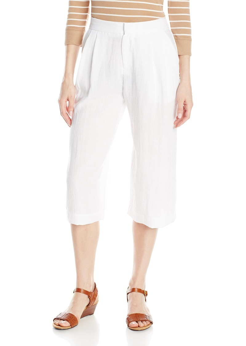 Karen Kane Women's Pleated Culottes Off-White
