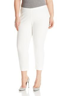 Karen Kane Women's Plus Size Cropped Flare Pant