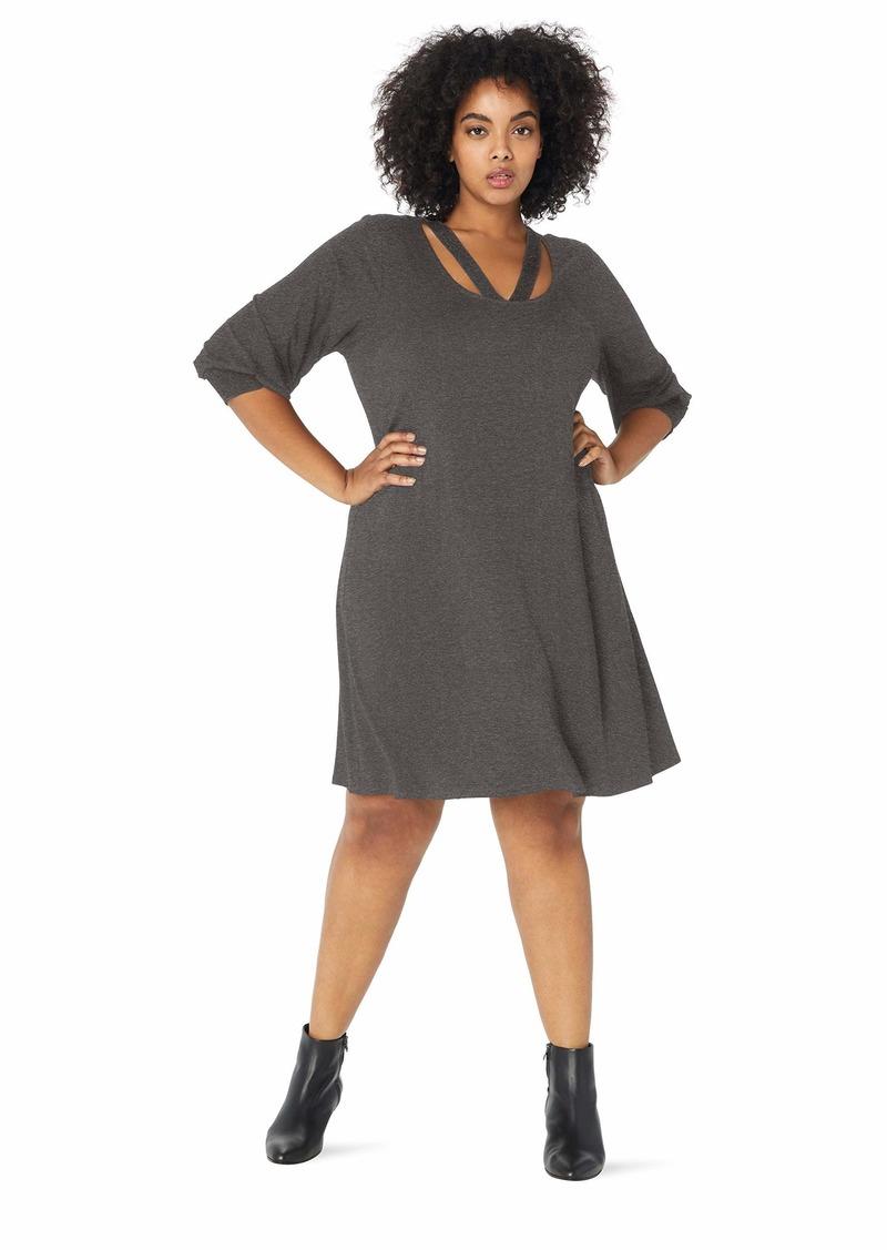 Karen Kane Women's Plus Size Cross-Front Taylor Dress  3X