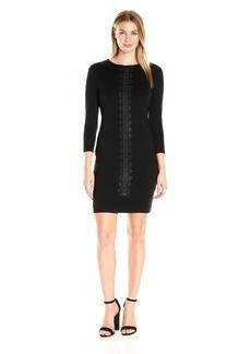 Karen Kane Women's Plus Size Embellished Sheath Dress  1X