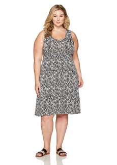 Karen Kane Women's Plus Size Hi-Lo Hem Dress  3X