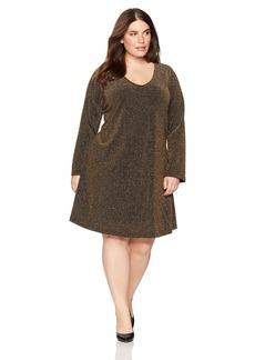 Karen Kane Women's Plus Size Knit Taylor Dress  2X