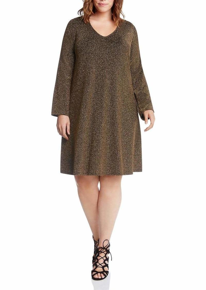 Karen Kane Women's Plus Size  Knit Taylor Dress