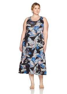 Karen Kane Women's Plus Size Maxi Tank Dress