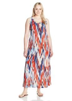 Karen Kane Women's Plus Size Maxi Tank Dress  2X