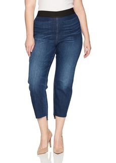 Karen Kane Women's Plus Size Step Hem Jegging  0X