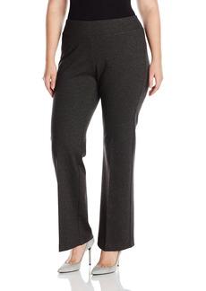 Karen Kane Women's Plus Size Structured Knit Pant  0X