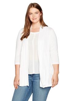 Karen Kane Women's Plus Size Tiered Jacket