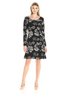 Karen Kane Women's Print A-Line Dress  XS
