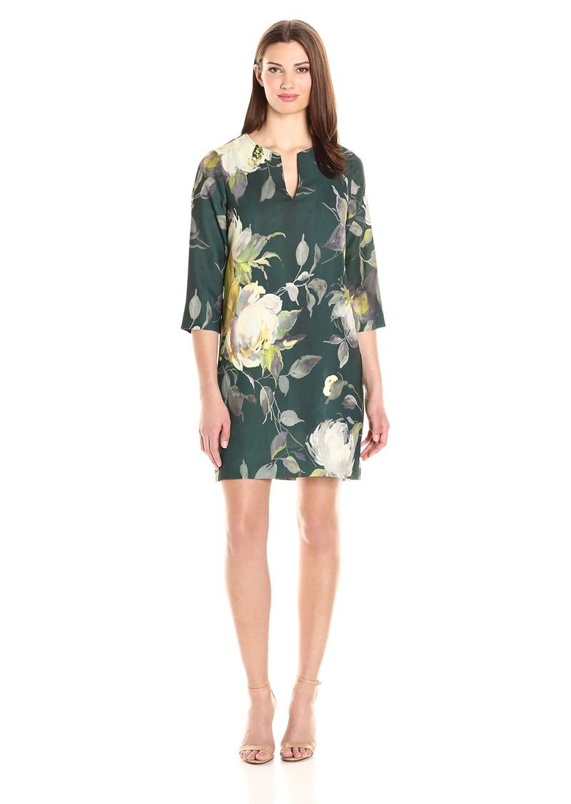 Karen Kane Women's Print Shift Dress  XL