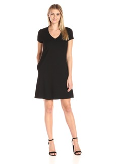 Karen Kane Women's Quinn V-Neck Pocket Dress  M