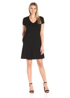 Karen Kane Women's Quinn V-Neck Pocket Dress  XS