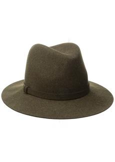 Karen Kane Women's Raw Edge Trilby Hat  Small/Medium
