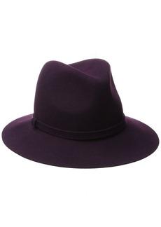 Karen Kane Women's Raw Edge Trilby Hat  Medium/Large