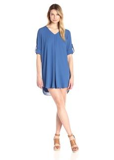 Karen Kane Women's Roll-up Sleeve Dress  XS
