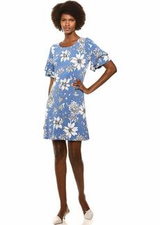 Karen Kane Women's Ruffle Sleeve Dress