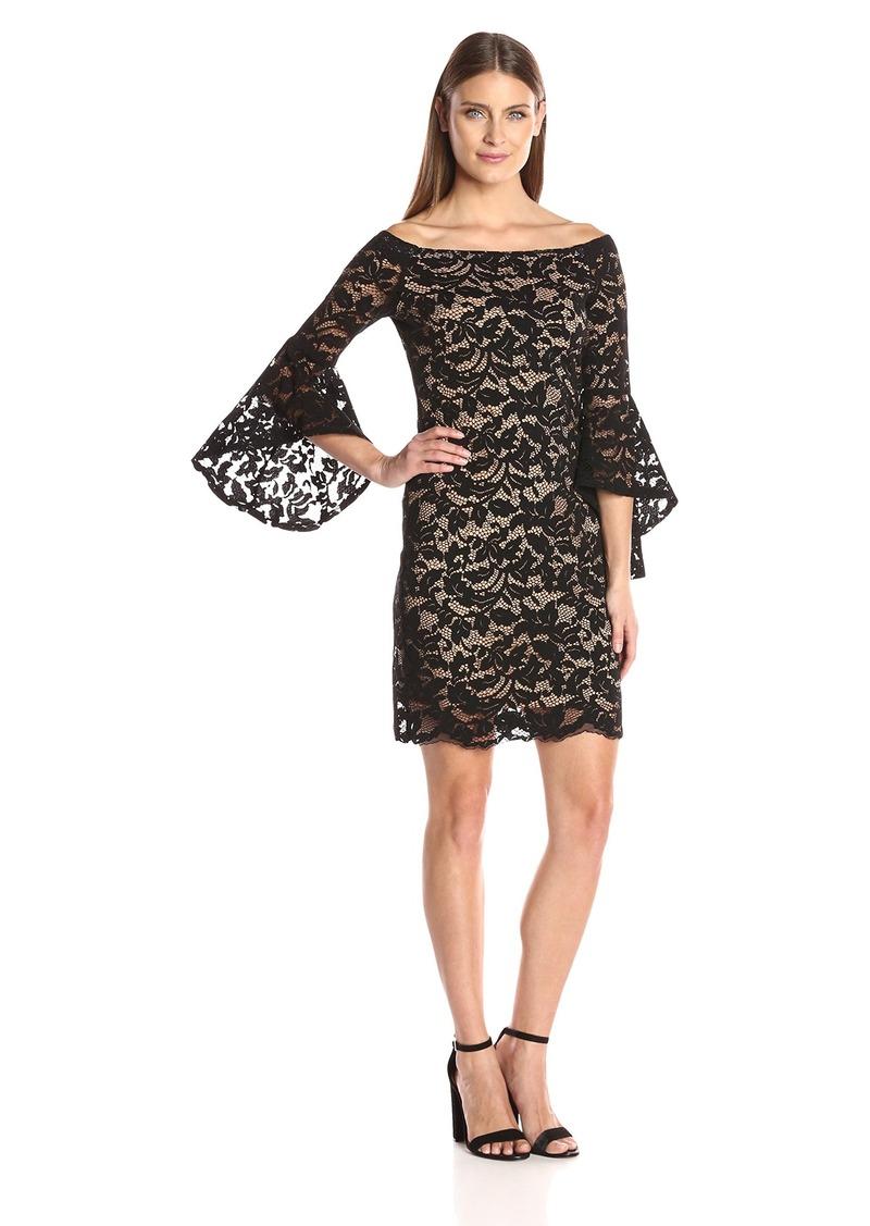 ad41aff88820c Karen Kane Karen Kane Women s Samantha Lace Dress M