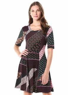 Karen Kane Women's Seamed A-LINE Dress