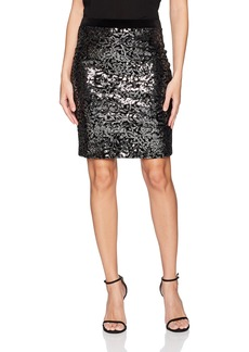 Karen Kane Women's Sequin Skirt  XS