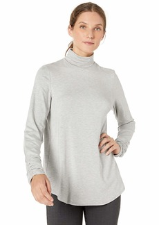Karen Kane Women's Shirred Sleeve Turtleneck TOP