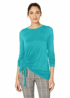 Karen Kane Women's Side Drawstring Top