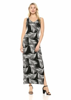 Karen Kane Women's Side-Slit Maxi Dress