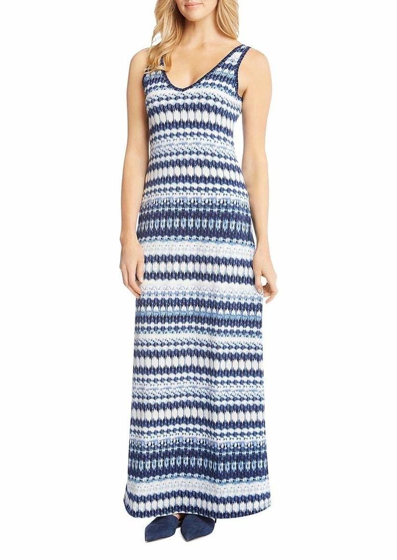Karen Kane Women's Side-Slit Maxi Dress