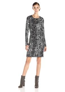 Karen Kane Women's Snake Print Sheath Dress