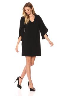 Karen Kane Women's Split-Sleeve Shift Dress  L