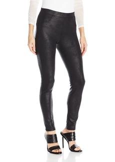 Karen Kane Women's Stretch Faux Leather Pant  L