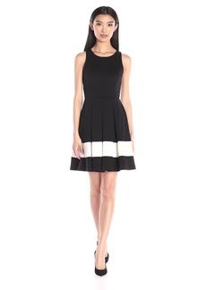 Karen Kane Women's Stripe Flare Dress