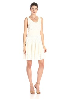 Karen Kane Women's Tara Tiered Lace Dress