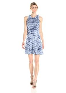 Karen Kane Women's Tie Dye Halter Dress  XL