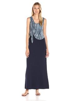 Karen Kane Women's Tie-Top Maxi Dress