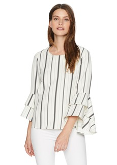 Karen Kane Women's Tiered Bell Sleeve TOP