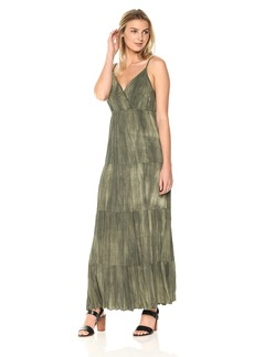 Karen Kane Women's Tiered Maxi Dress  S
