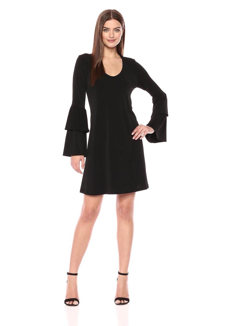 Karen Kane Women's Tiered Sleeve Taylor Dress  S
