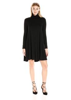 Karen Kane Women's Turtleneck Maggie Trapeze Dress  XL
