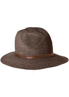Karen Kane Women's Tweed Braid Fedora Hat