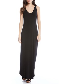 Karen Kane Zipped Side Slit Maxi Dress
