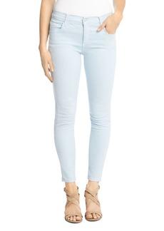 Karen Kane Zuma Skinny Cropped Jeans in Sky Blue