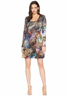 Karen Kane Long Sleeve A-Line Dress