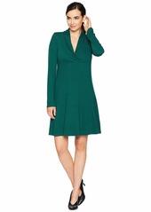 Karen Kane Mock Neck Taylor Dress